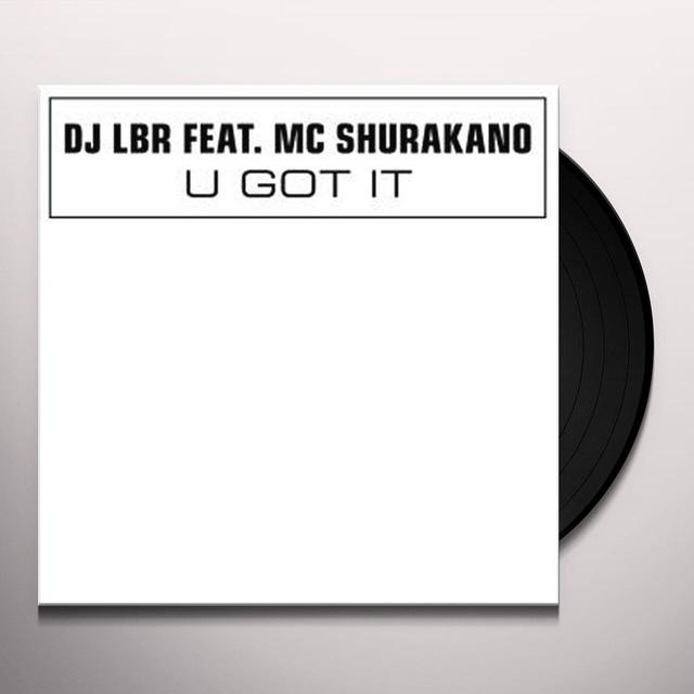 Dj Lbr U GOT IT Vinyl Record