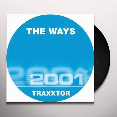 Traxxtor WAYS Vinyl Record