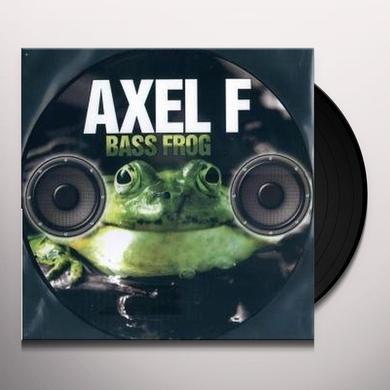Axel F BASS FROG Vinyl Record