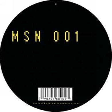 Rico Puestel BINARY EP Vinyl Record