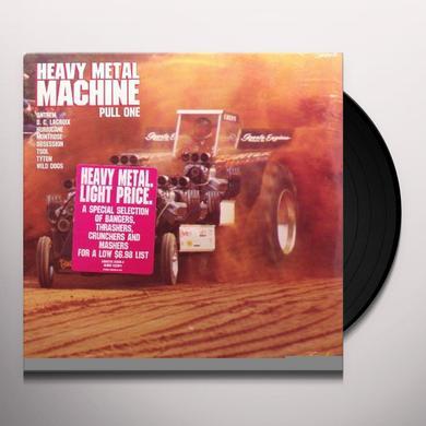 Heavy Metal Machine Pull One ANTHEM/D.C. LACROIX/HURRICANE/MONTROSE Vinyl Record