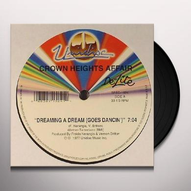 Crown Heights Affair DREAMING A DREAM/DANCIN Vinyl Record