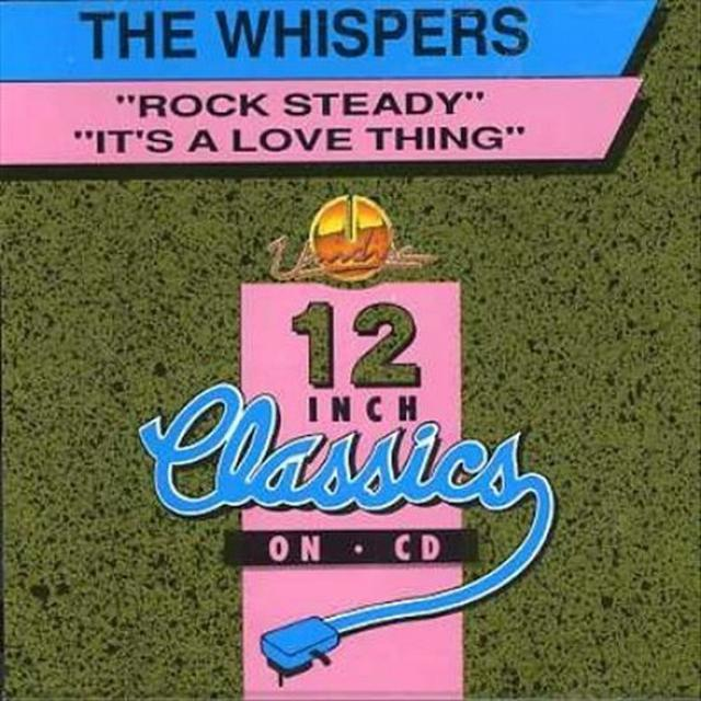 Whispers ROCK STEADY/IT'S A LOVE THIN Vinyl Record