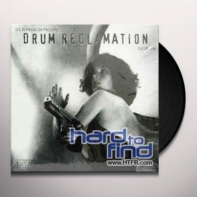 Dj Producer DRUM RECLAMATION (DRUM BEATS) Vinyl Record