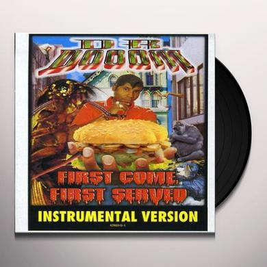 Dr. Dooom FIRST COME FIRST SERVED (INSTRUMENTAL) Vinyl Record