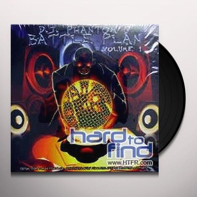 DJ PHANTOM'S BATTLE PLAN 1 Vinyl Record