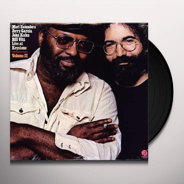 Jerry Garcia & Merl Sanders LIVE AT KEYSTONE 2 Vinyl Record