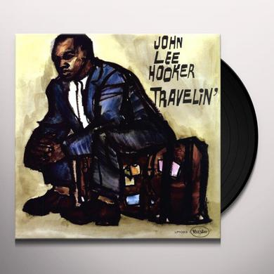 John Lee Hooker TRAVELIN Vinyl Record