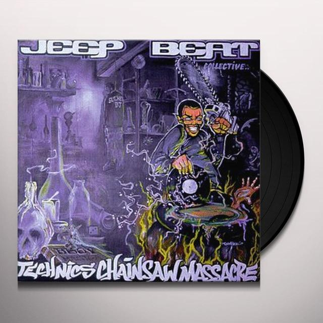 Jeep Beat Collective TECHNICS CHAINSAW MASSACRE Vinyl Record