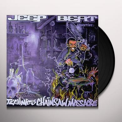 Jeep Beat Collective TECHNICS CHAINSAW MASSACRE Vinyl Record