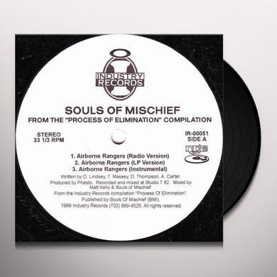 Souls Of Mischief AIRBORNE RANGERS Vinyl Record