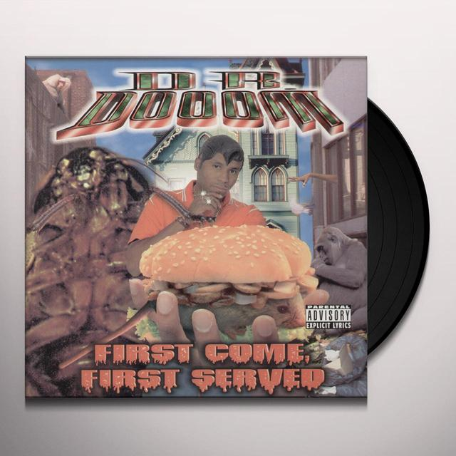 Dr. Dooom FIRST COME FIRST SERVED Vinyl Record