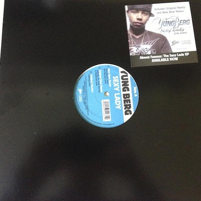 Yung Berg SEXY LADY Vinyl Record