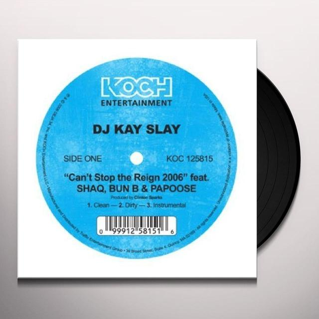 Dj Kay Slay CAN'T STOP THE REIGN 2006 Vinyl Record