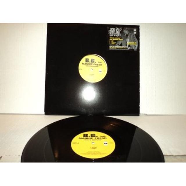 B.G. MOVE AROUND Vinyl Record
