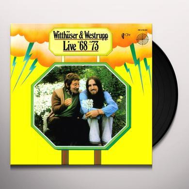 Witthüser & Westrupp LIVE 68-73 Vinyl Record