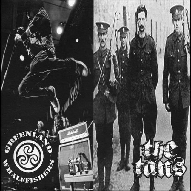 Greenland Whalefishers & The Tans SPLIT Vinyl Record
