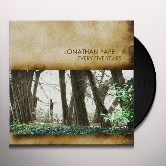 Jonathan Pape EVERY FIVE YEARS Vinyl Record