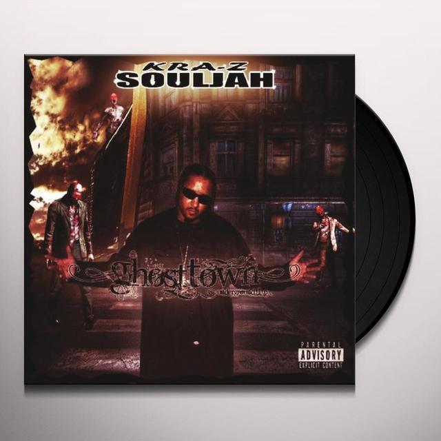 Kra-Z Souljah GHOSTTOWN UNDERGROUND Vinyl Record