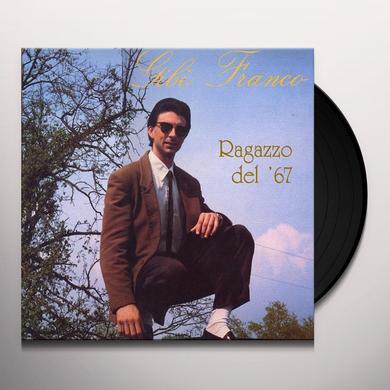 Gib Franco RAGAZZO DEL '67 Vinyl Record