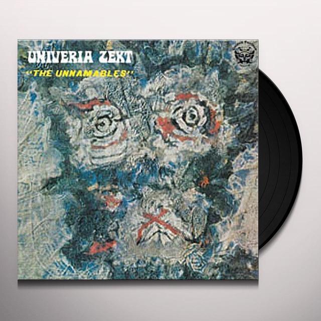 Univeria Zekt UNNAMABLES Vinyl Record