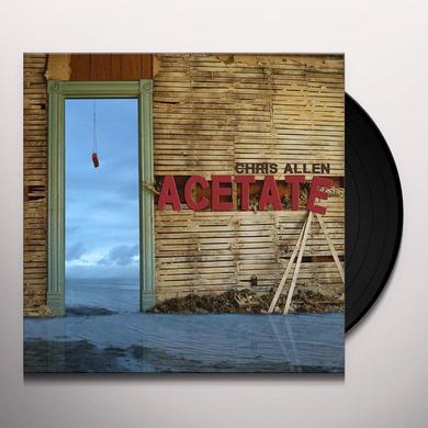Chris Allen ACETATE Vinyl Record