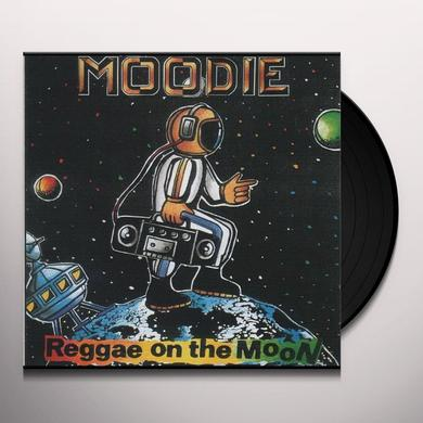 Moodie REGGAE ON THE MOON Vinyl Record