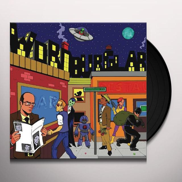 WORDBURGLAR EP Vinyl Record