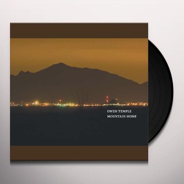 Owen Temple MOUNTAIN HOME Vinyl Record