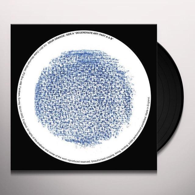 Sour Orange DEGENERATE ART (LIMITED EDITION SINGLE) Vinyl Record