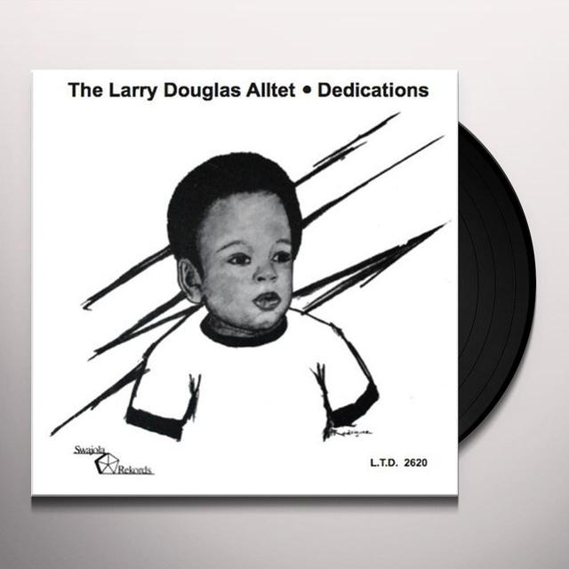 LARRY DOUGLAS ALLTET DEDICATIONS Vinyl Record