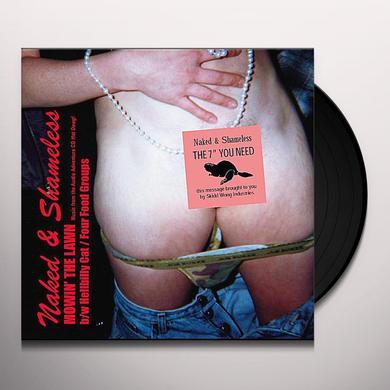 Naked & Shameless MOWIN' THE LAWN Vinyl Record