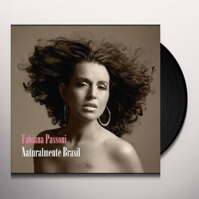 Fabiana Passoni NATURALMENTE BRASIL Vinyl Record