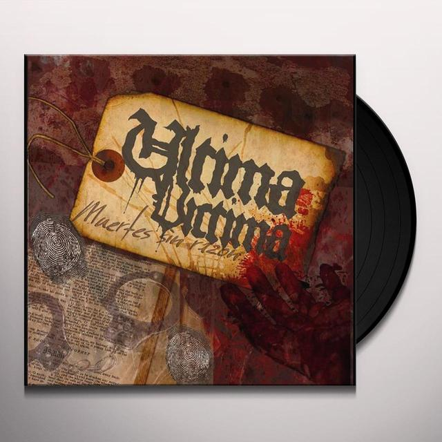 Ultima Victima MUERTES SIN RAZON Vinyl Record