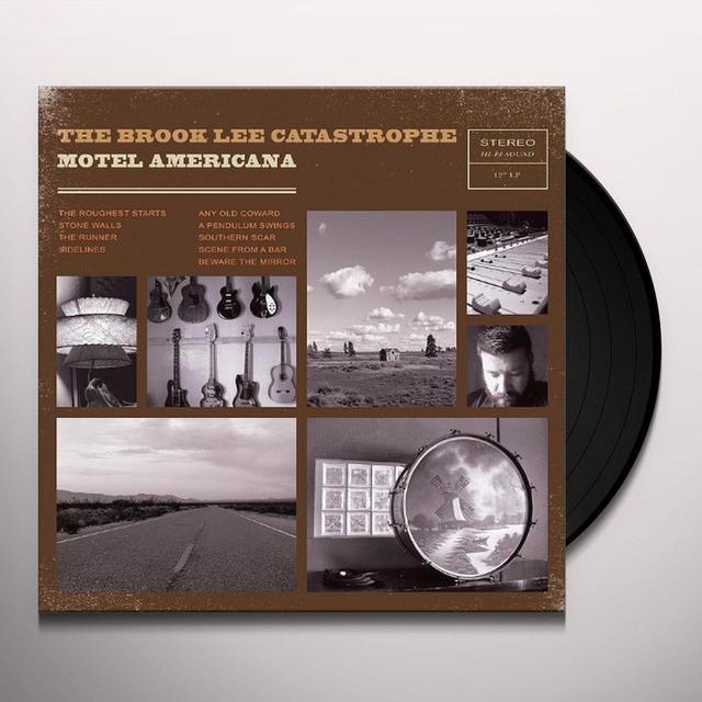 Brook Catastrophe Lee MOTEL AMERICANA Vinyl Record