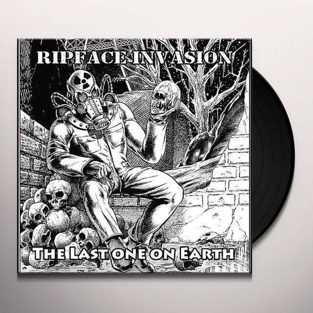 Ripface Invasion LAST ONE ON EARTH Vinyl Record
