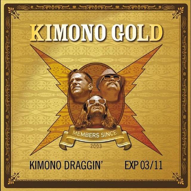 Kimono Draggin' KIMONO GOLD Vinyl Record