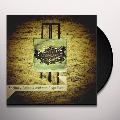 Zachary Galanis & The Ergo West WILD UNKNOWN Vinyl Record