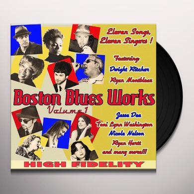 BOSTON BLUES WORKS 1 / VARIOUS Vinyl Record