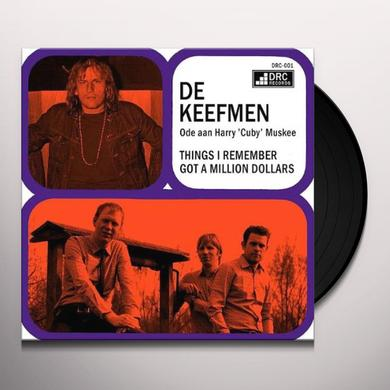 De Keefmen THINGS I REMEMBER Vinyl Record