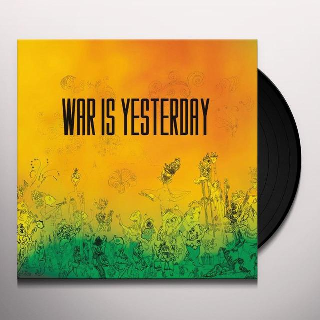 Futurist WAR IS YESTERDAY Vinyl Record