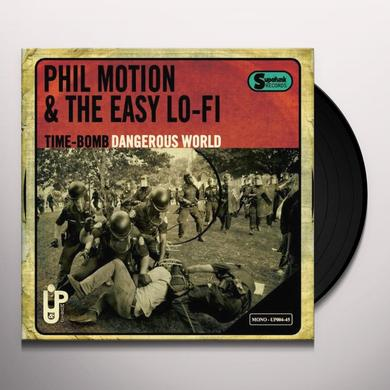 Phil Motion & The Easy Lo-Fi TIME-BOMB Vinyl Record