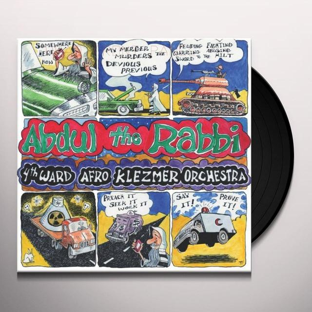 4Th Ward Afro Klezmer Orchestra ABDUL THE RABBI Vinyl Record