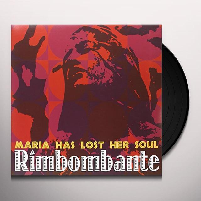 Rimbombante MARIA HAS LOST HER SOUL Vinyl Record