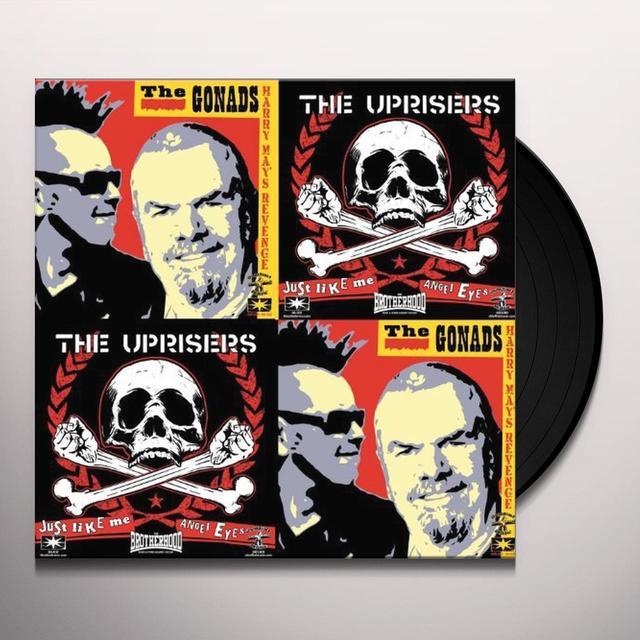 UPRISERS/GONADS SPLIT Vinyl Record