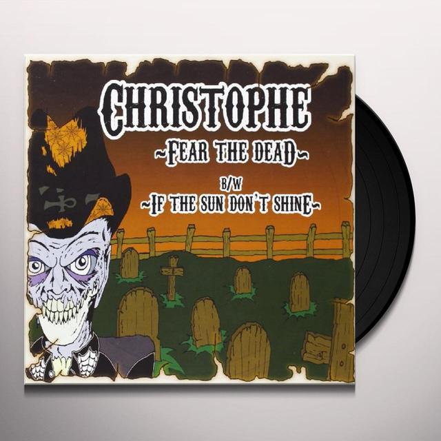 Christophe Murdock FEAR THE DEAD Vinyl Record