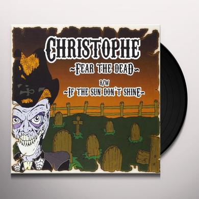 Christophe Murdock FEAR THE DEAD Vinyl Record