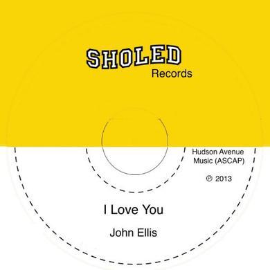 John Ellis I LOVE YOU Vinyl Record