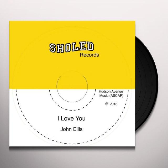 John Ellis I LOVE YOU Vinyl Record