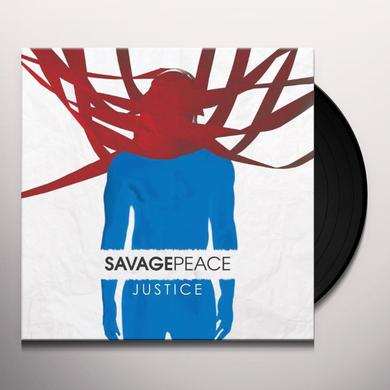 Savage Peace JUSTICE Vinyl Record